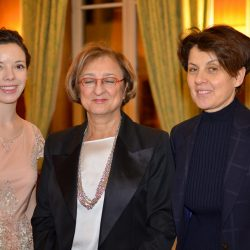 Gabriella Battaini-Dragoni, SGA du Conseil de l'Europe était en charge du toast d'honneur de l'édition 2017.