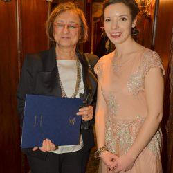 Gabriella Battaini-Dragoni et la SG de PLDH.