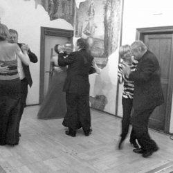 L'ouverture de la soirée dansante.